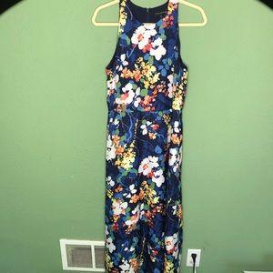 Banana Republic Bold Floral Maxi Dress Size 8